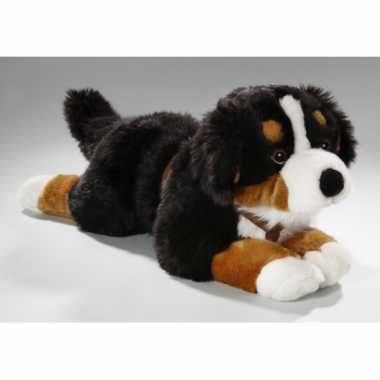 Grote pluche honden knuffel berner senner 55 cm