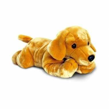 Grote pluche knuffel labarador 120 cm hond