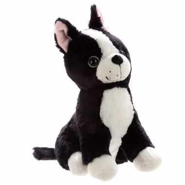 Knuffel dieren deurstopper hond 29 cm