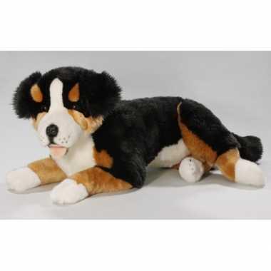 Pluche berner sennen knuffel 60 cm hond