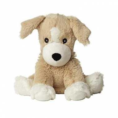 Pluche warmte knuffel puppy hond
