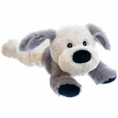 Warme knuffel kruik hond 18 cm
